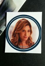 "CALLIE THORNE NECESSARY ROUGHNESS MYSTERI TV SMALL 1.5"" GET GLUE GETGLUE STICKER"