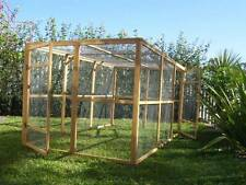 Chicken Coop Extension Rabbit Cat RUN Fits Somerzby HOMESTEAD/MANOR cage