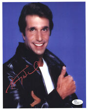 HENRY WINKLER Signed 8X10 Color Photo with a JSA (James Spence) COA