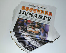 2014 SF GIANTS San Francisco Chronicle World Series Newspaper Collector Edition