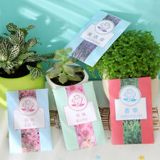 Hot 5X Sachets Scented Hanging Fragrance Freshener Wardrobe Car Different Scents
