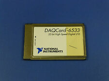 National Instruments DAQCard-6533 PCMCIA NI DAQ Card, Digitial I/O