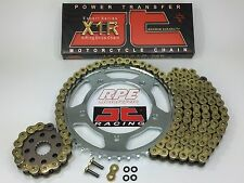 1999-09 Suzuki SV650s JT Gold Chain and Sprocket Kit OEM, QA or Fwy sv 650s
