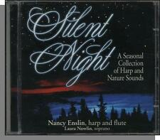 Nancy Enslin - Silent Night - New CD! - New Age Harp with Soprano Laura Nowlin!