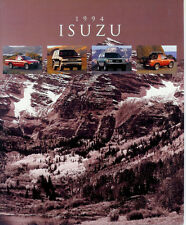 1994 ISUZU FULL LINE SALES BROCHURE  TROOPER  RODEO  AMIGO  PICKUP