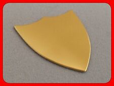 GILT/GOLD COLOUR BLANK FOR ENGRAVING TROPHY SHIELD (2125AG)