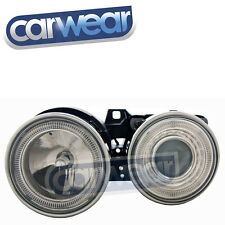 BMW E30 3-Series Chrome Angel-Eyes Head Lights 318i, 318is, 320i, 323i, 325i,