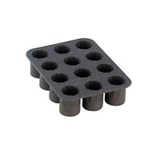 Silicone Forma Ghiaccio per 12 x Vetro colpo in Cubetti di Formine