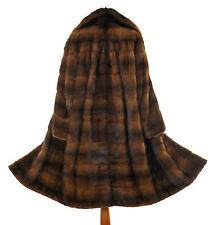 SAGA MINK Nerz Pelz Mantel Visone Pelliccia Piel Mink Fur coat Fourrure Vison