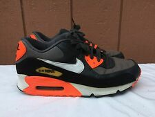 Nike Air Max Mesh HYPERFUSE Dark Gray Crimson Men 333888-017 US SZ 10 EUR 44