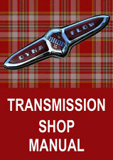BUICK DYNAFLOW AUTOMATIC TRANSMISSION MANUAL