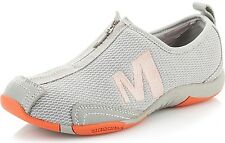 Womens Sz 8 MERRELL Tamba Breeze Ash Gray Coral Athletic Casual Shoes J198195C