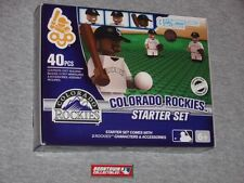 MLB Series 2 OYO Colorado Rockies Starter Set Infield 3 Figure Lot Field FREESHP