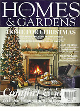 HOMES & GARDENS, HOME FOR CHRISTMAS, DECEMBER, 2015  NO.6  VOL.97 (COMFORT & JOY