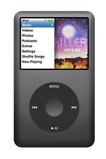 Apple iPod Clásico 7th Generación Negro Gris 160GB último Modelo Usb Nuevo Sellado
