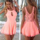 Sexy Women Celeb Lace Playsuit Party Evening Summer Ladies Dress Jumpsuit Shorts