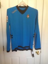 KAPPA 2012-13 REAL VALLADOLID BRILL BLUE GK HOME SHIRT XL LFP