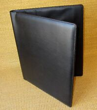 Monarch Size | BLACK Sim Leather FRANKLIN COVEY WIRE BOUND COMPASS Planner Cover