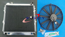 3 Rows Aluminum Radiator & FAN for Toyota Pickup Truck 4Runner 3.0L V6 1988-1995