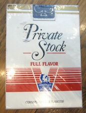 Private Stock Full Flavor American Value Select.  Playing Cards New Sealed Deck