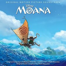 Moana - Original Movie / Film Soundtrack - CD NEW & SEALED Walt Disney