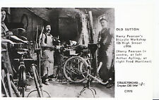 Surrey Postcard - Old Sutton - Harry Pearson's Bicycle Workshop A5789