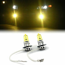 YELLOW XENON H3 HEADLIGHT LOW BEAM BULBS TO FIT Chrysler Voyager MODELS