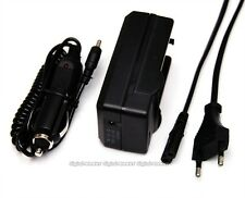 EU Plug Battery Car Charger NP-FW50 for SONY A55 A33 NEX-5C NEX3C CX500E CX520E