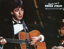 PAUL McCARTNEY GIVE MY REGARDS TO BROAD STREET 1984 VINTAGE LOBBY CARD #1
