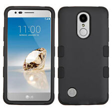 For LG ARISTO MS210 / LV3 / K8 2017 - Hybrid Armor Shockproof Phone Case Cover