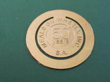 Meals on Wheels Inc 50 years Bookmark or Banknote Clip