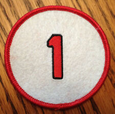 CLEARANCE SALE OZZIE SMITH ST LOUIS CARDINALS 1992 RETIRED JERSEY NUMBER 1 PATCH