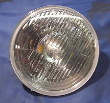 "JAGUAR DAIMLER HELLA 7"" H4 FLAT GLASS HEADLAMP FITS XJ6 XJ12 SERIES 3 JLM9617"