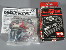 New Tamiya HOP-UP LED Light Unit for RC Car (TLU-01) 53909 OP909 TT-01 TT-02 TA