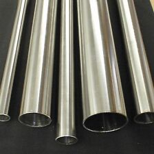 """STAINLESS STEEL TUBING 7/8"""" O.D. X 24 INCH LENGTH X 1/16"""" WALL 22mm"""