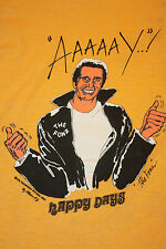 XXS * vtg 70s 1976 HAPPY DAYS the fonz tv show t shirt *fonzie arthur fonzarelli