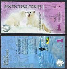 ARTICO - ARCTIC TERRITORIES 1 DOLAR 2012 POLIMERO   SC  UNC