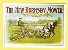 ADVERTISING  POSTCARD  -  ROBERT  OPIE  -  THE  NEW  HORNSBY  MOWER