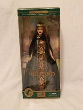 Princess Of Ireland 2001 Barbie NRFB Dolls of the world collectors edition