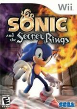 Nintendo Wii Sonic and the Secret Rings VideoGames