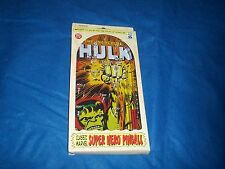 """2005 Classic Marvel Superhero Pinball Game """"The Incredible Hulk"""" by Schylling"""