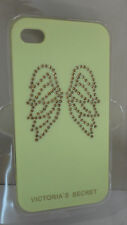 VICTORIA'S SECRET YELLOW  ANGEL RHINESTONE WINGS IPHONE 4/4S CASE NIB
