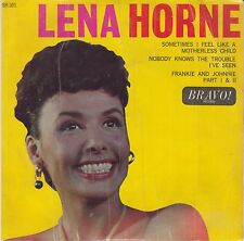 "LENA HORNE-Sometimes I Feel Like A Motherless Child UK 3 Track 7"" EP EX Cond"