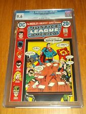 JUSTICE LEAGUE OF AMERICA #105 CGC 9.6 WHITE PAGES APRIL-MAY 1973