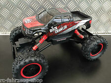 RC Crawler / Rock Crawler Pick-Up red- black / Allrad 4WD / 2,4 Ghz / M 1:14