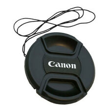 58mm Canon Camera Snap-on Len Lens Cap Cover with Cord Filter Lens Cap