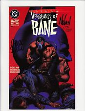 BATMAN VENGEANCE OF BANE #1 SIGNED CHUCK DIXON GRAHAM NOLAN 1942/10000 DC 1993!