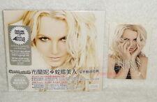 Britney Spears Femme Fatale Taiwan Ltd CD w/OBI +Promo Sticker (digipak)