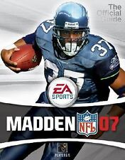 Madden NFL 2007 (Prima Official Game Guide), , Kaizen Media Group, New, 2006-08-