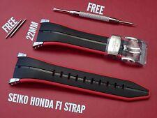 Seiko Honda F1 Sportura Correa De Goma De Banda Para 7t62-0gr0 sna749 4kz5jz 7t62-ogro